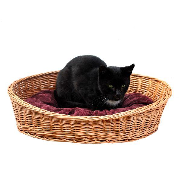 Katzenbett mit Kissen