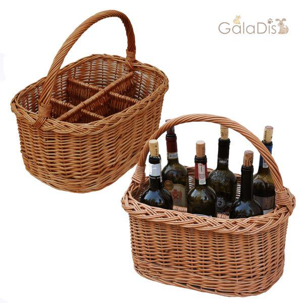 Flaschenkorb Wein