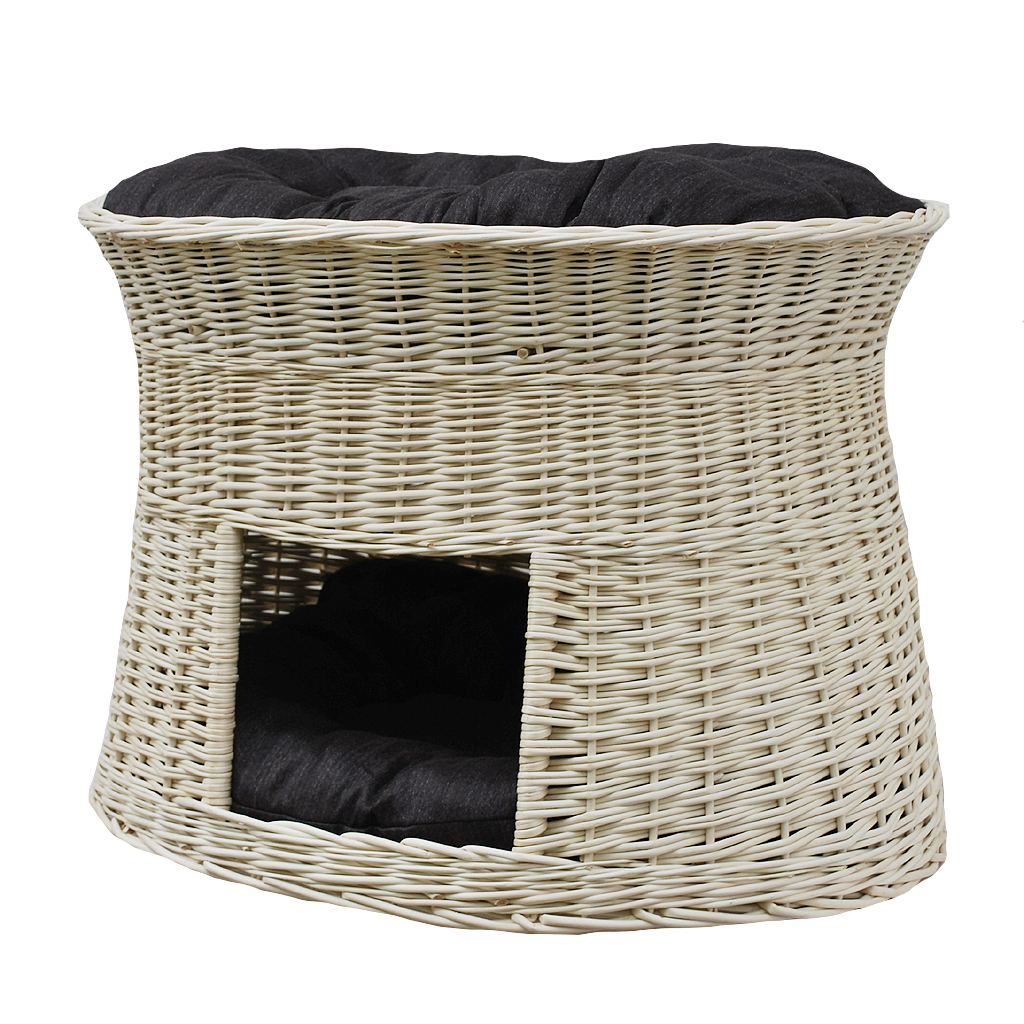 wei e katzenh hle gro jetzt g nstig kaufen. Black Bedroom Furniture Sets. Home Design Ideas